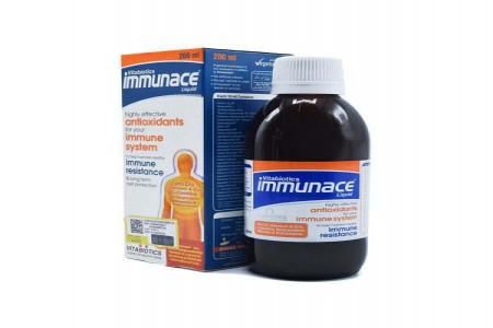 عوارض و نحوه مصرف شربت ایمیونس Immunace Syrup