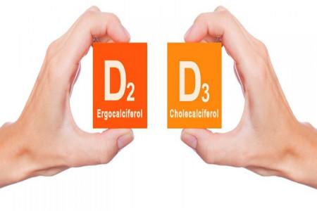 مقایسه و تفاوت های بین ویتامین D2 با ویتامین D3