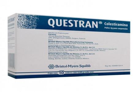 موارد و نحوه مصرف داروی کوئستران (کوله استایرامین)