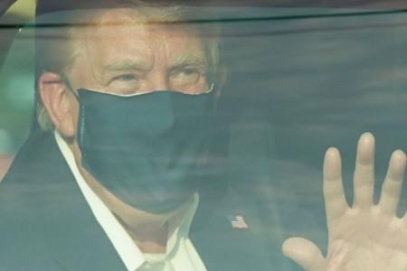علت خروج ترامپ از بیمارستان چیست ؟