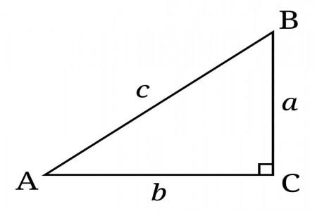 آموزش ساده محاسبه محیط و مساحت مثلث قائم الزاویه