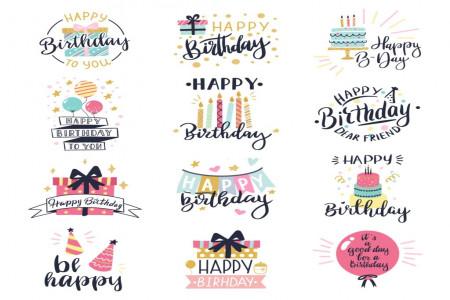 تبریک تولد (تولدت مبارک) به زبان های مختلف