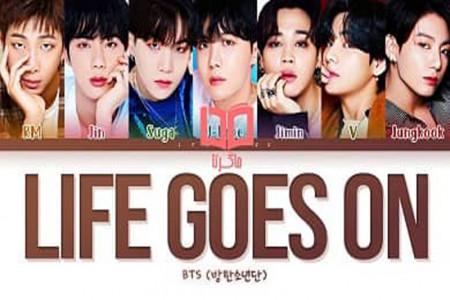 متن و ترجمه فارسی آهنگ Life Goes On از BTS