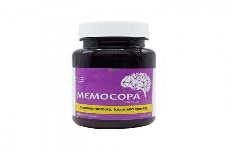 افزایش تمرکز و حافظه با کپسول مموکوپا (Memocopa)