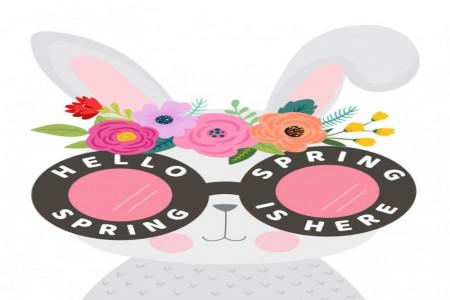 نقاشی بهار : 40 نقاشی فصل بهار برای رنگ آمیزی کودکان