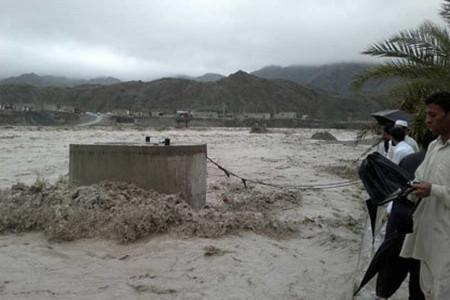 200 روستای نیکشهر در محاصره سیلاب