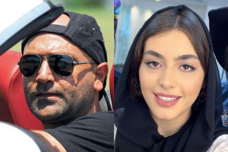 دابسمش ریحانه پارسا و همسرش مهدی کوشکی