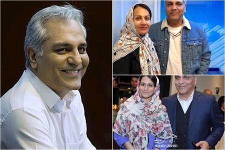 رونمایی مهران مدیری از همسرش
