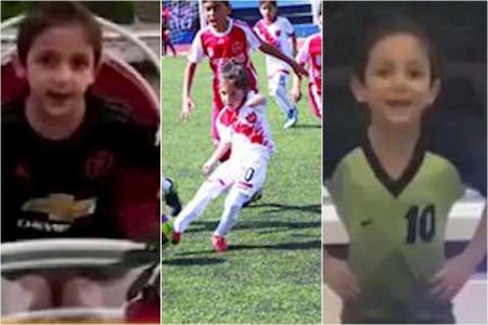 بیوگرافی حامی محمودی نابغه شش ساله فوتبال ایران