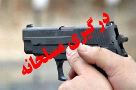 درگیری مسلحانه مرزبانان با قاچاقچیان سوخت