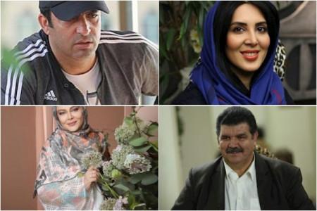 بازیگران کرونایی ایرانی