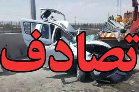 جزئیات تصادف زنجیره ای 50 خودرو در اتوبان قزوین + اسامی مصدومان
