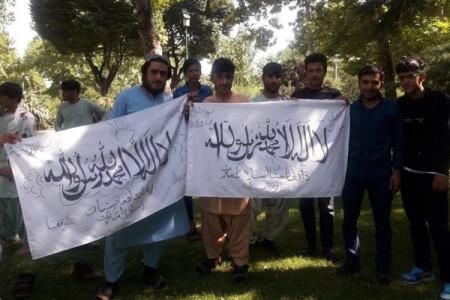 ماجرای عکس تجمع طرفداران طالبان در تهران چه بود ؟