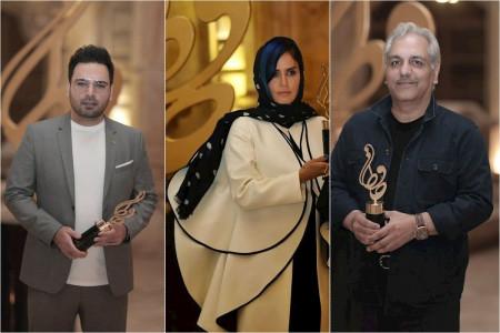 حواشی و اسامی برندگان جشن حافظ 99 به همراه تصاویری دیدنی