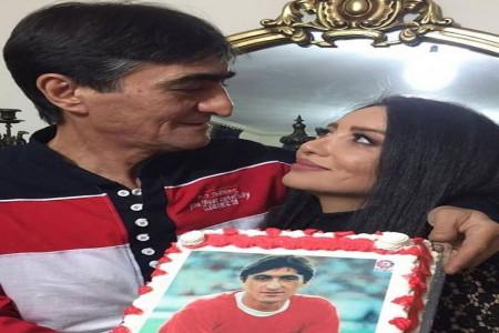 عکس های جدید ناصر محمدخانی و همسرش