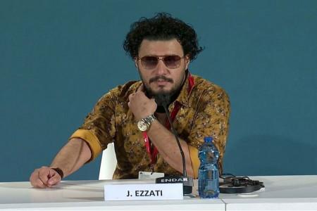 تیپ جواد عزتی در ونیز