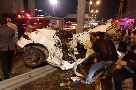7 کشته و 10 زخمی در حادثه واژگونی پژو 405 در کرمان