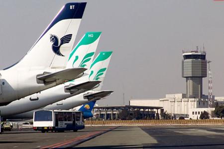 علت فرود اضطراری هواپیما تهران گرگان در ساری