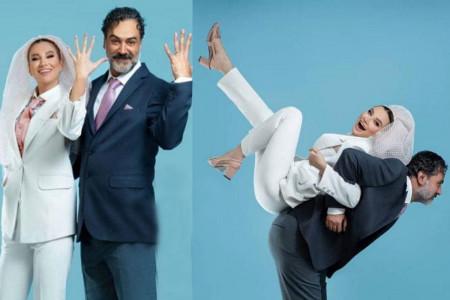 عکس های آتلیه ای عمار تفتی و همسرش در روز ازدواج