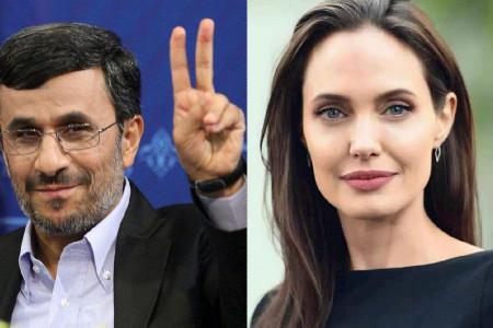 توئیت احمدی نژاد برای آنجلینا جولی