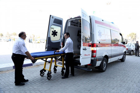 ماجرای بیرون افتادن جسد از آمبولانس در شیراز چه بود ؟