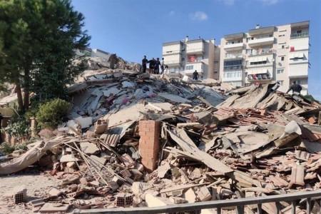 فوتی های زلزله ازمیر ترکیه