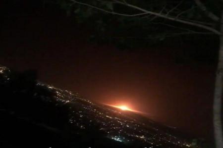 انفجار یک شهاب سنگ در میامی استان سمنان !