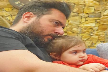 مسخره بازی پدر دختری محسن کیایی و دخترش رز