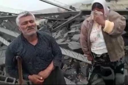 فیلم تخریب خانه فردی معلول در فسا خبرساز شد