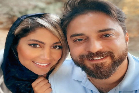 عکس جنجالی بابک جهانبخش و همسرش در ساحل کیش