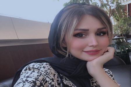 پالتوی شیک و لاکچری سپیده بزمی پور همسر شاهرخ استخری