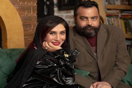 تسلیت بازیگران به نسیم ادبی در پی درگذشت همسرش