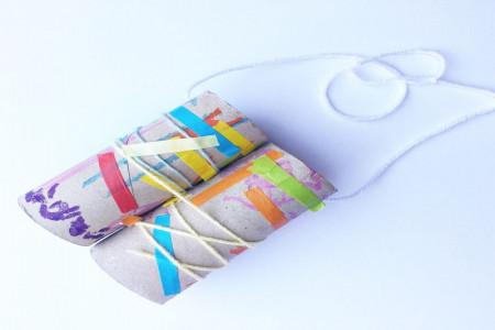 کاردستی کودک - ساخت دوربین با رول دستمال کاغذی