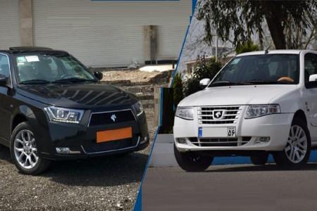 مقایسه خودرو دنا پلاس با سورن