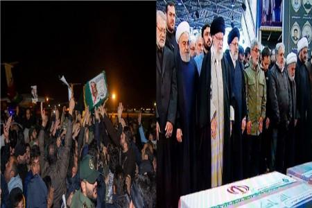 جزئیات مراسم تشییع پیکر شهید قاسم سلیمانی در تهران و قم