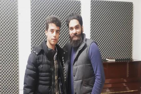 پسر جوان خواننده که چوپان است کیست ؟