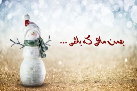 پیام در مورد بهمن ماهی که باشی