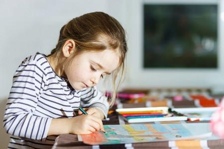 نقاشی روز مادر : 70 نقاشی با موضوع مادر برای رنگ آمیزی کودکان