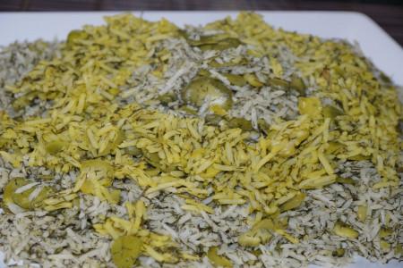 سبزی باقلا پلو چیست ؟ طرز تهیه باقالی پلو