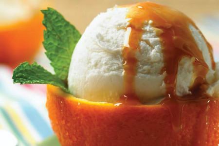 این بستنی یخی پرتقالی را حتما امتحان کنید