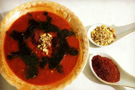 طرز تهیه آش سماق غذای سنتی و محبوب اصفهان