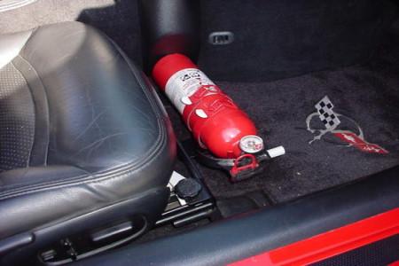 اصول و نحوه نصب کپسول آتش نشانی در خودرو