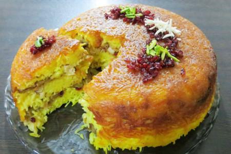 طرز تهیه شیرازی پلو غذای مجلسی و لذیذ شیراز