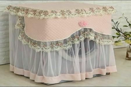ایده هایی جذاب برای تزئین کاور لباسشویی