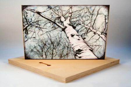 آموزش چاپ عکس روی چوب با کمترین امکانات در منزل