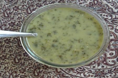 طرز تهیه آش کارده غذای محلی شیراز