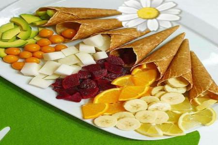 ایده های جذاب برای تزیین ظرف میوه مناسب جشن ها و مهمانی ها