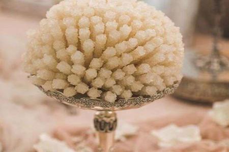 آموزش ساخت توپک نبات برای سفره عقد