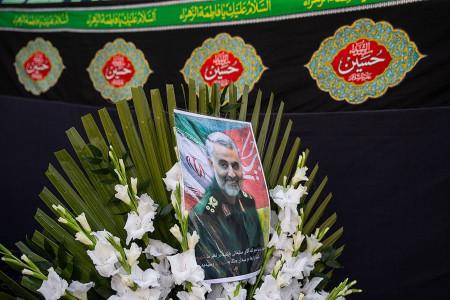 عکس پروفایل به مناسبت شهادت سردار سلیمانی
