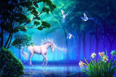 45 عکس باکیفیت اسب تک شاخ (یونیکورن) برای پروفایل و والپیپر